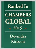 Leading Indiviual: Dave Kissoon has been ranked in Global Chambers 2015